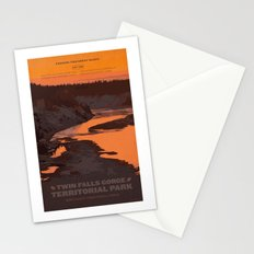 Twin Falls Gorge Territorial Park Stationery Cards