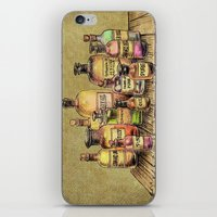 oil iPhone & iPod Skins featuring Snake Oil by Eric Fan
