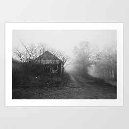 Abandoned Ozarks Art Print