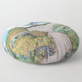 The Path to the Ocean Floor Pillow