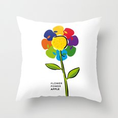 Flower Power iPhone 4 5 6, ipod, ipad case Samsung Galaxy Throw Pillow