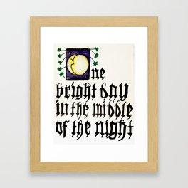 One Bright Day Framed Art Print