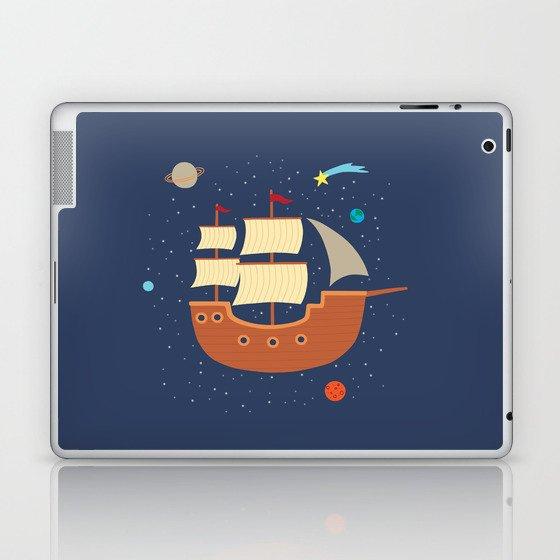 space-ship Laptop & iPad Skin