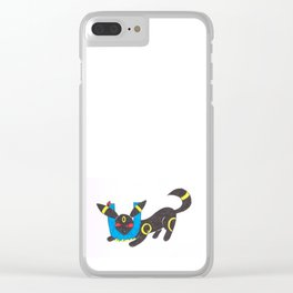 U is for umbreon Clear iPhone Case