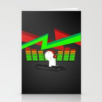 cryaotic Stationery Cards featuring DJ! CRYAOTIC by Danielbpc