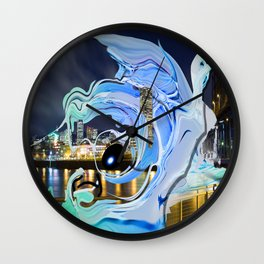 Face of the City Wall Clock