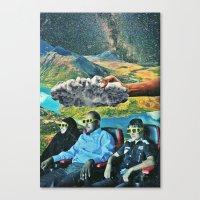 3d Canvas Prints featuring 3D by Caroline A