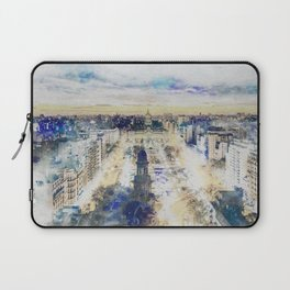 Buenos Aires watercolor Laptop Sleeve