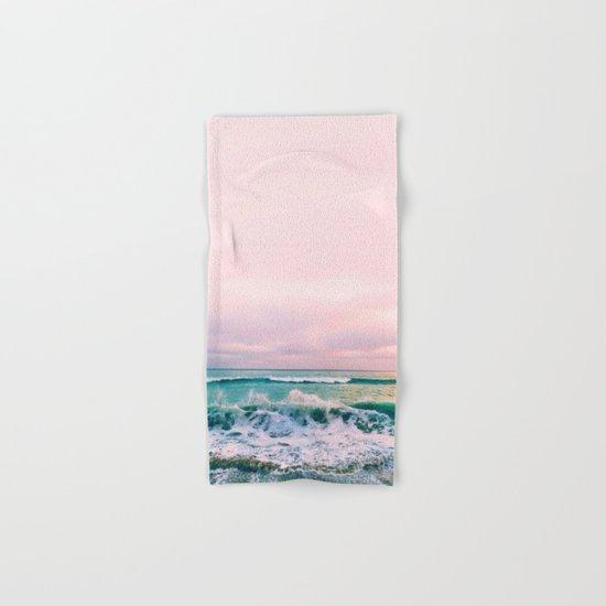 beach sunset photo Hand & Bath Towel