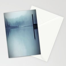Misty Blue Stationery Cards