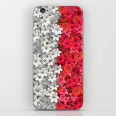 Boundary Flowers iPhone & iPod Skin