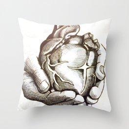 A Servant Heart Throw Pillow