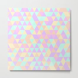 Triangles IV Metal Print