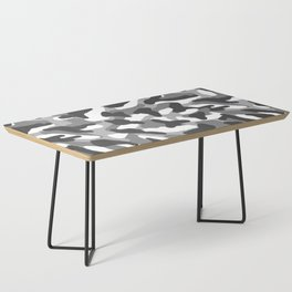 Grey Gray Camo Camouflage Coffee Table