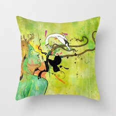 Shaping Desires Throw Pillow