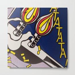 pop art roy lichtenstein Metal Print