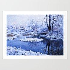 Winter Landscape 1 Art Print