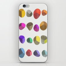 Painted Pebbles 2 iPhone & iPod Skin