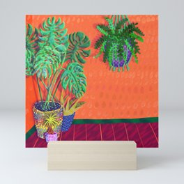 Tropical Plant Fantasy Mini Art Print