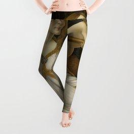 "Sandro Botticelli ""Venus and Mars"" Venus Leggings"