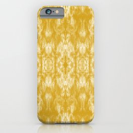 Golden Tie-Dye / Sunshine Abstraction iPhone Case