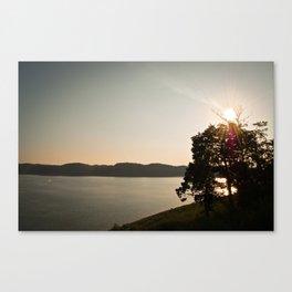 Lake Cumberland Sunset Canvas Print