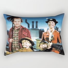 Jack Torrance in Mary Poppins Rectangular Pillow