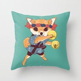 CHAPPA DOGE Throw Pillow