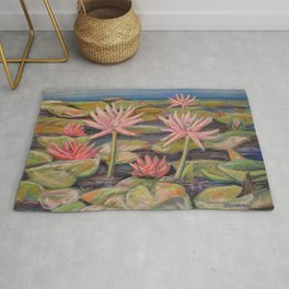 Lilies Galore Rug