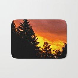 Sunset Pines Bath Mat