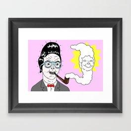 Quiff Framed Art Print