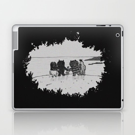 Surrounded By Your Friends Laptop & iPad Skin