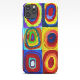 Wassily Kandinsky Color Study iPhone Case