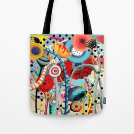 Colorful Happy Days  Tote Bag