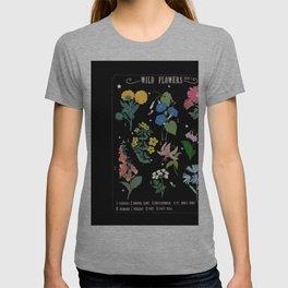 Wild flowers botanical  T-shirt