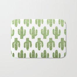 Glitter Cacti Bath Mat