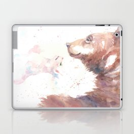 The bear, the cat and the tree of truth Laptop & iPad Skin