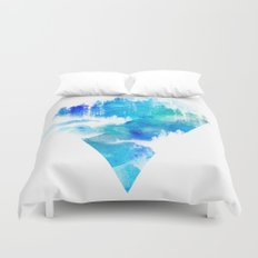Escape from town Duvet Cover
