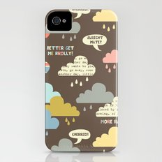 Rainy London iPhone (4, 4s) Slim Case