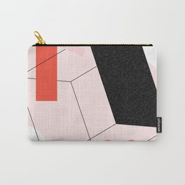 Lined Up Carry-All Pouch