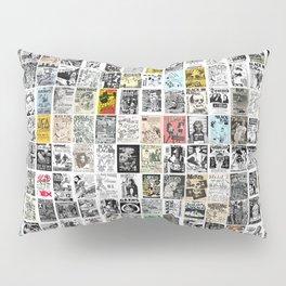 Punk Show Flyers Pillow Sham