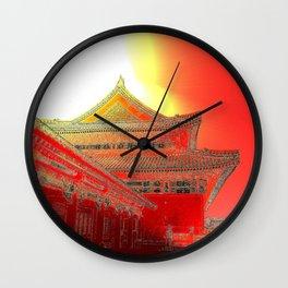 The Peasants' Sun/Emperor's Palace Wall Clock