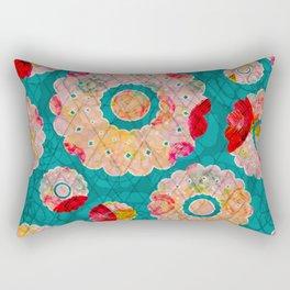 Diamond Doily Rectangular Pillow