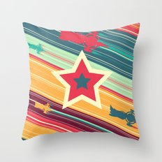 A Dandy guy... In Space! Throw Pillow