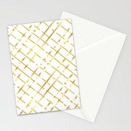 golden line Stationery Cards