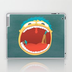Oh, They're Teeth People! Laptop & iPad Skin