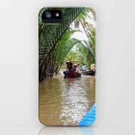 Tributary of the Mekong Delta iPhone Case