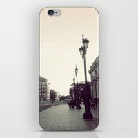 madrid iPhone & iPod Skins featuring Madrid by Miko Jester