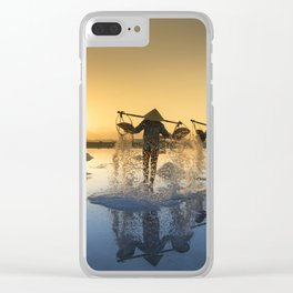 Vietnam Salt Clear iPhone Case
