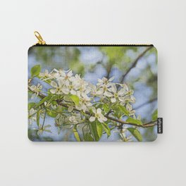 white pearblossom in the springtime Carry-All Pouch